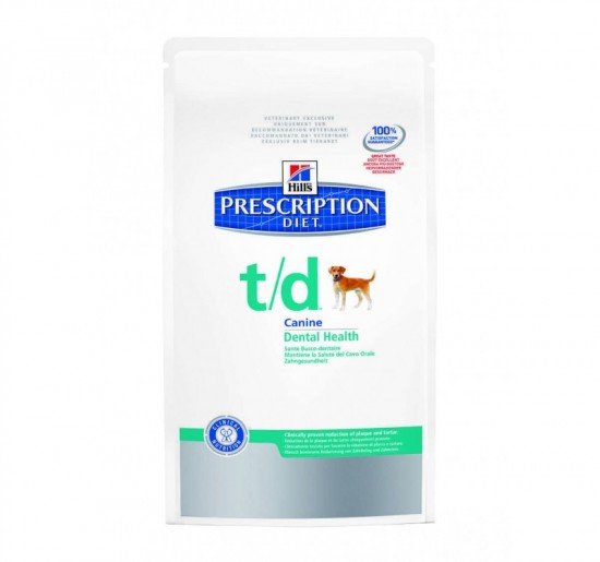 Hills Prescription Diet T/D 3kg