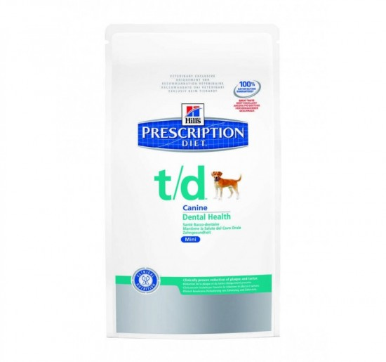 Hills Prescription Diet T/D Mini 3kg