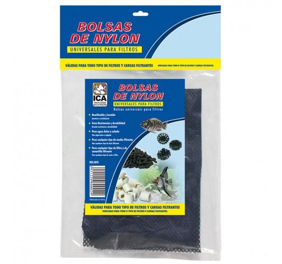 Bolsa para materiales filtrantes