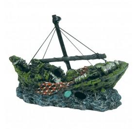 Barco naufragio mediano