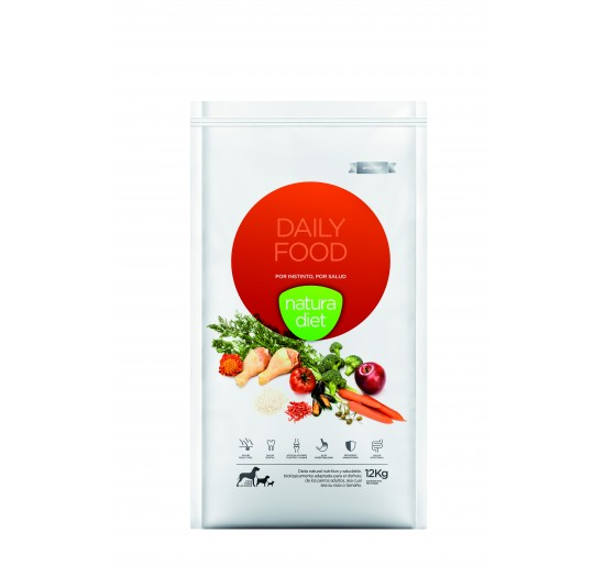 Pack 2 Natura Diet Daily Food 12 kg