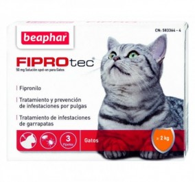 Pipetas antiparasitarias gato Friprotec