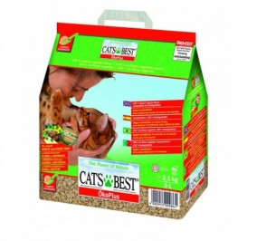 Lecho vegetal para gatos Cats Best 10L