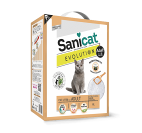 Arena para gatos Sanicat Evolution Adulto