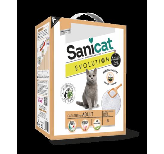 Arena para gatos Sanicat Evolution Adulto