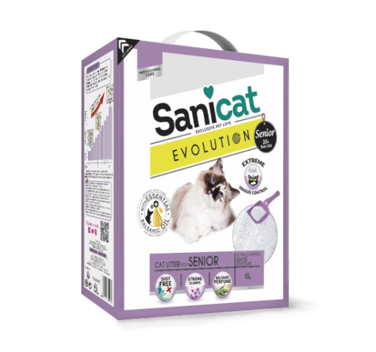 Arena para gatos Sanicat Evolution Senior