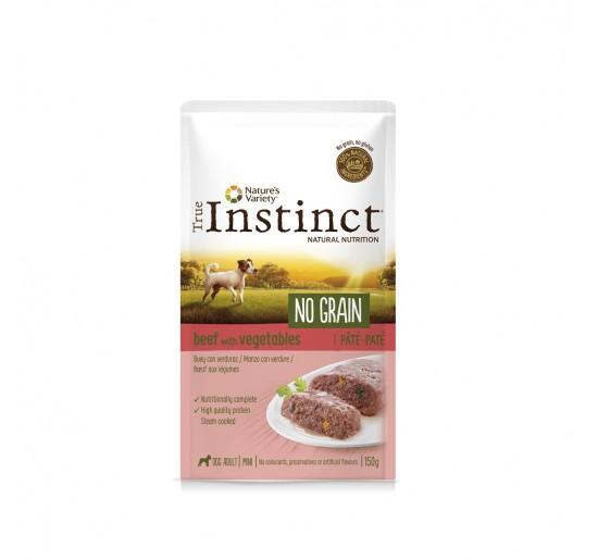 TRUE INSTINCT No Grain Buey y Verduras 150grs