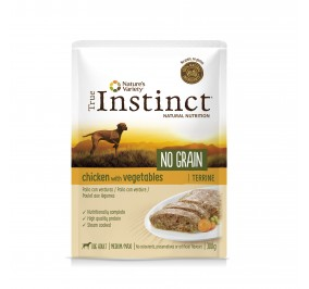 TRUE INSTINCT No Grain Pollo y Verduras 300grs