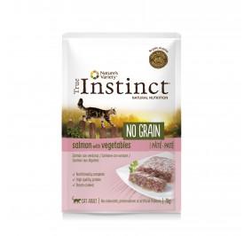 Instinct Gato Salmon  y Verduras