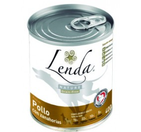 LENDA POLLO con Zanahorias 400grs