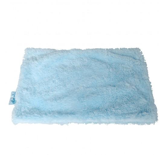 Manta Para Perros Peluche Azul