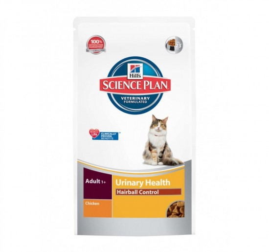Hills Science Plan Adult Urinary Hairball Control