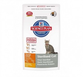 Hills Science Plan Sterilized Cat Pollo
