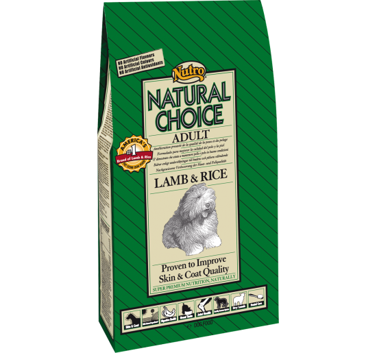 Nutro Natural Choice Adulto Cordero