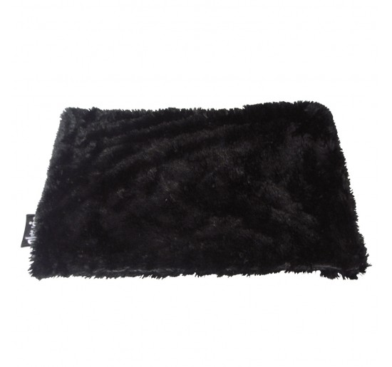 Manta Para Perros Peluche Negra