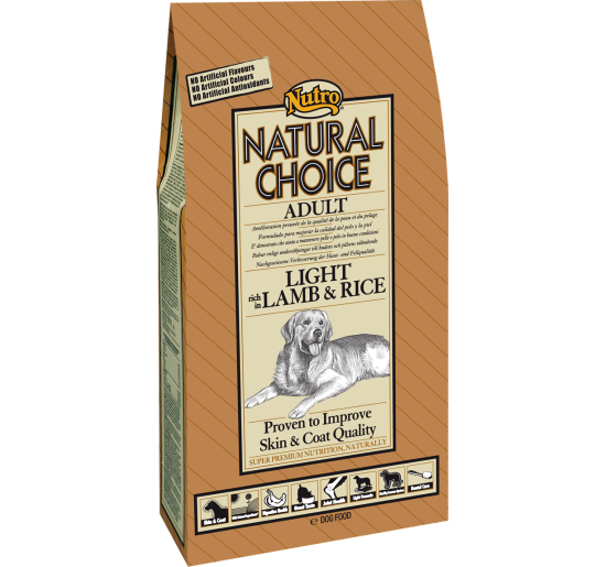 Nutro Natural Choice Light Cordero