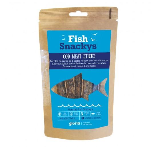 FISH SNACKYS Barritas de Carne de Bacalao