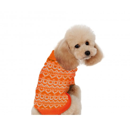 JERSEY LANA ALPHA DOG Naranja