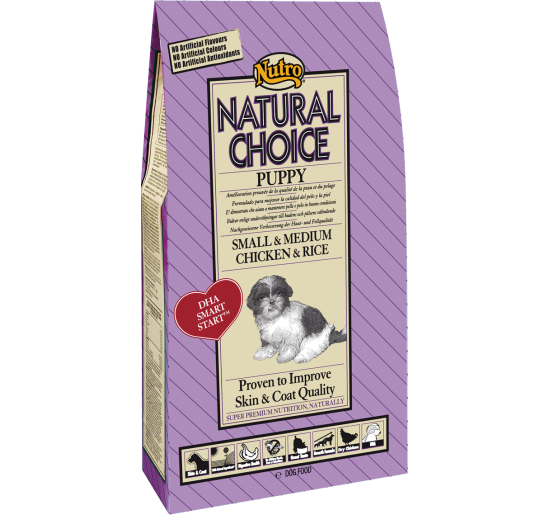 Nutro Natural Choice Puppy Mini Pollo