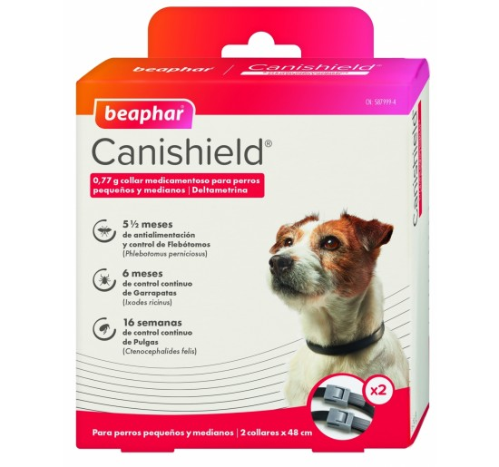 CANISHIELD 48cm Pack 2 Collares
