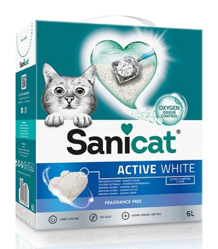 sanicat-active-white