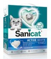 SANICAT ACTIVE WHITE Arena para Gatos