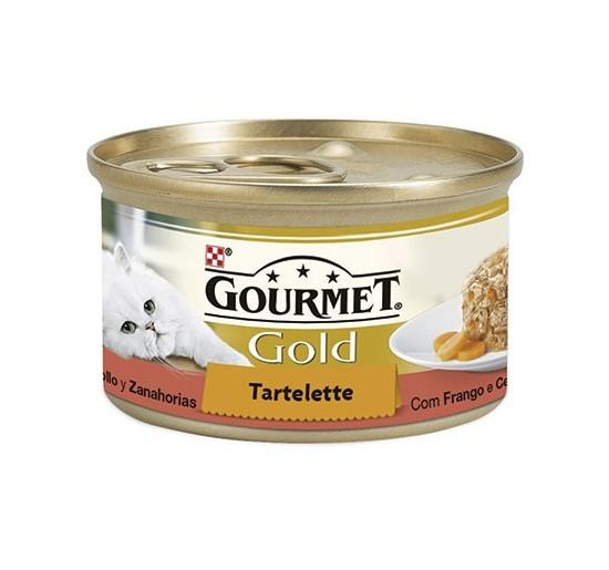 Gourmet Gold Tartalette Pollo y Zanahorias