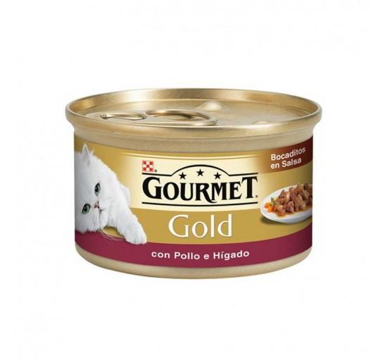 Gourmet Gold Bocaditos de Pollo e Higado