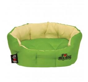 Cama Cojin Reversible Verde