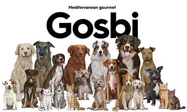 Gosbi Alimentación para perros y gatos
