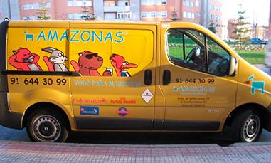Envío a domicilio mascotas